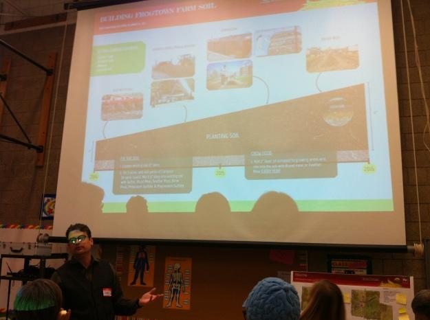 The team's crackerjack soil ecologist, Jake Voit, breaks down the nuances of loam!